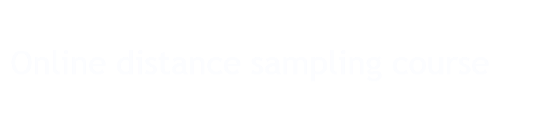 Distance sampling online course – Online course website